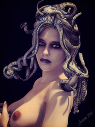 Gorgon by moxiegraphix