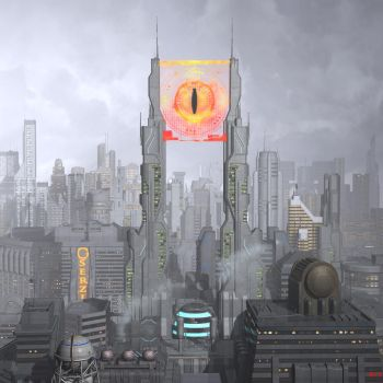 Cyber Sauron by Hera-of-Stockholm