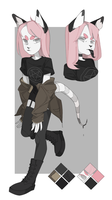 comm ref sheet by catteenager