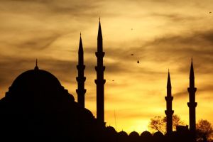 mosque by BUERRINO