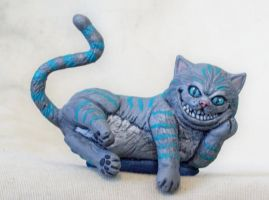 Cheshire Cat by superclayartist