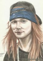 Axl Rose 2 by SavanasArt