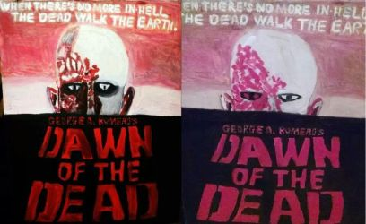Dawn of the Dead 1978 improvement by HorrorArtistfromCali