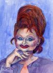 Tammy Faye by Caricature80