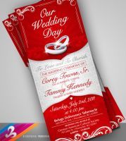 Wedding Invitation 1 by AnotherBcreation