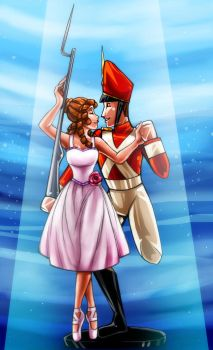 CC: Ballerina and Tin Soldier by DrMistyTang