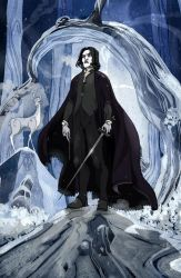 Severus Snape by Sally-Avernier