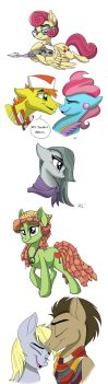 Yet Another MLP Sketch Dump by Celestial-Rainstorm