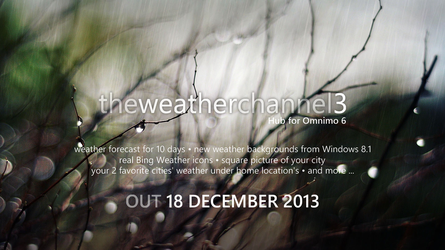Announce - The Weather Channel Hub 3 for Omnimo 6 by wifun2012