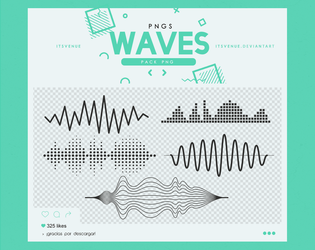.waves pngs #8 by itsvenue