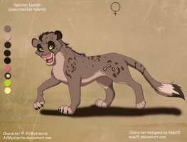 Rehema X unknown - cub for AVMysterrie by Nala15