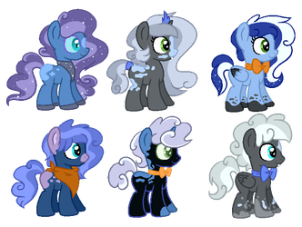 CMSF - Nightmare Moon x Fluffy Clouds [CLOSED] by Pikadopts