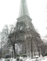 The Eiffel Tower by OwlsomeArts