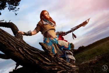 Horizon Zero Dawn - Aloy's Journey by RealRavenStarCosplay