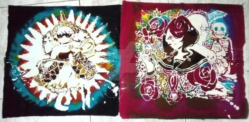 Batik: Geulis and Rosa by mengky335
