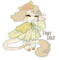 fairy child. thimblet auction! open! by loppyrae