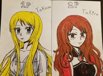 Takara and Takira by xXDoggieLover02Xx