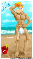 Rayman's Sand Body by VivianWolf18