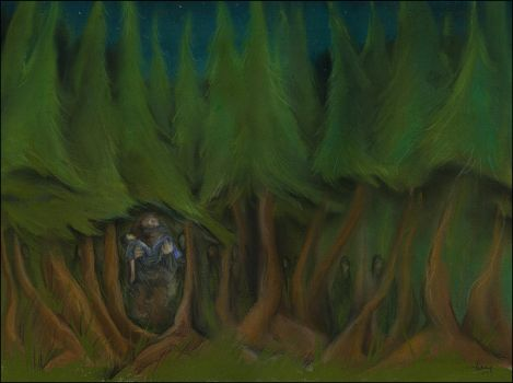 The Forest by gredandfeorge