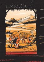 Tigers by Bloommer