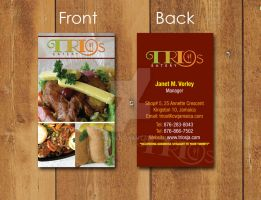 Trio's Business card original by Kycon