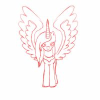 MLP Princess Aiclo: ANIMATION SKETCH by Aiclo