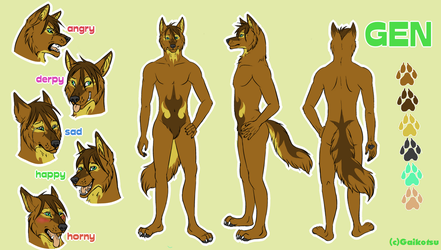 Commission - Gen reference by gaikotsu91