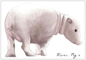 Rain Wilds: River Pig by Crooty