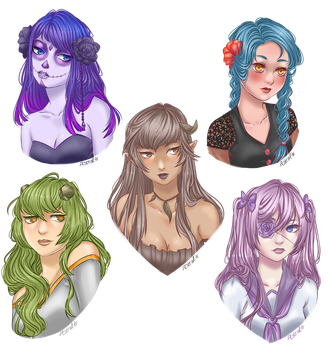 2K Art Giveaway [Part 1] by Astral-Chan