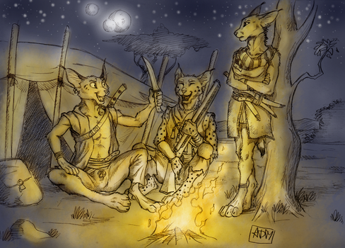 Campfire Stories by 0laffson