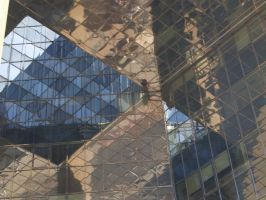 reflections of a building by wob86