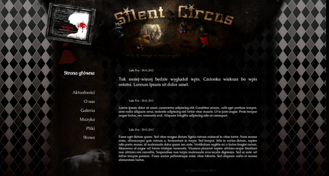 Silent Circus: Page by Pulpix