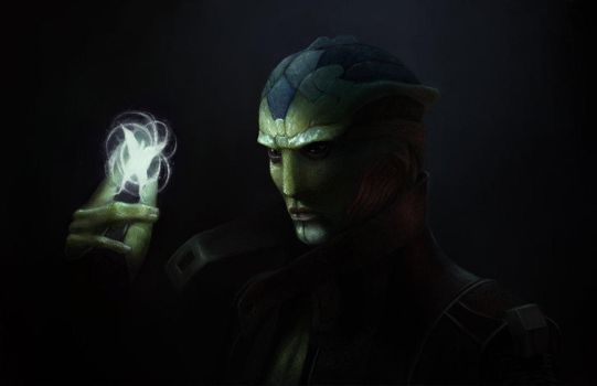 Thane Krios by Maguaii
