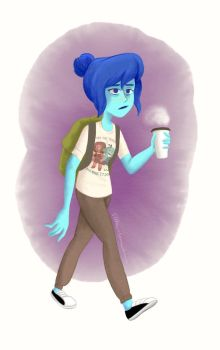 College Student Lapis by sitton-somewhere