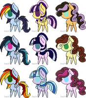 Shipping Point Pony Adopts 1 [CLOSED] by LittleCloudie