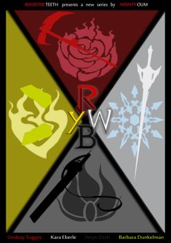 RWBY Movie Poster Contest - Entry #1 by Nathalie3264