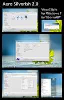 Aero Silverish 2.0 for Win 7 by TiborioART