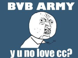 Y U NO LOVE CC? by BritishPieWTF