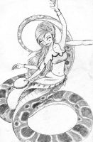 Naga Dance to the Tambourine by Ametyr
