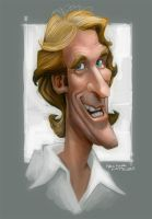 Michael Bay Caricature by heckthor