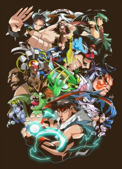 Street Fighter vs Darkstalkers by GlaucoSilva