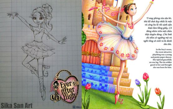 Ever After High Fanmade by sikasanprecure
