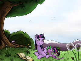 'What a Peaceful Afternoon...' by poecillia-gracilis19