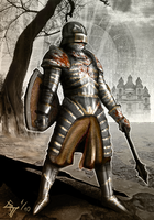 Knight of the Forgotten Realm by Buashei