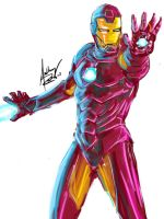 Iron Man... by Archonyto