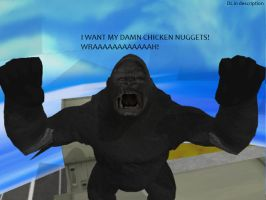 MMD Godzilla Newcomer - King Kong +Download+ by MMDCharizard