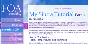 My Big Old Sintra Tutorial!! by Foayasha