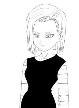 DBZ: Android 18 by greeeed