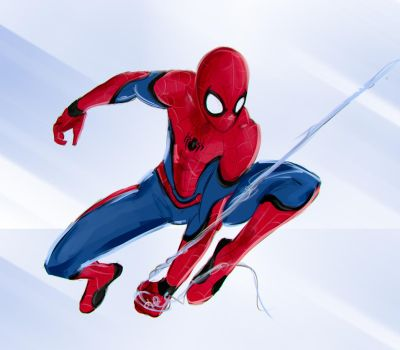 spiderman retouch by Sky-Rick