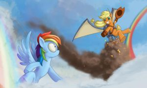 I can fly too! by Siegahertz